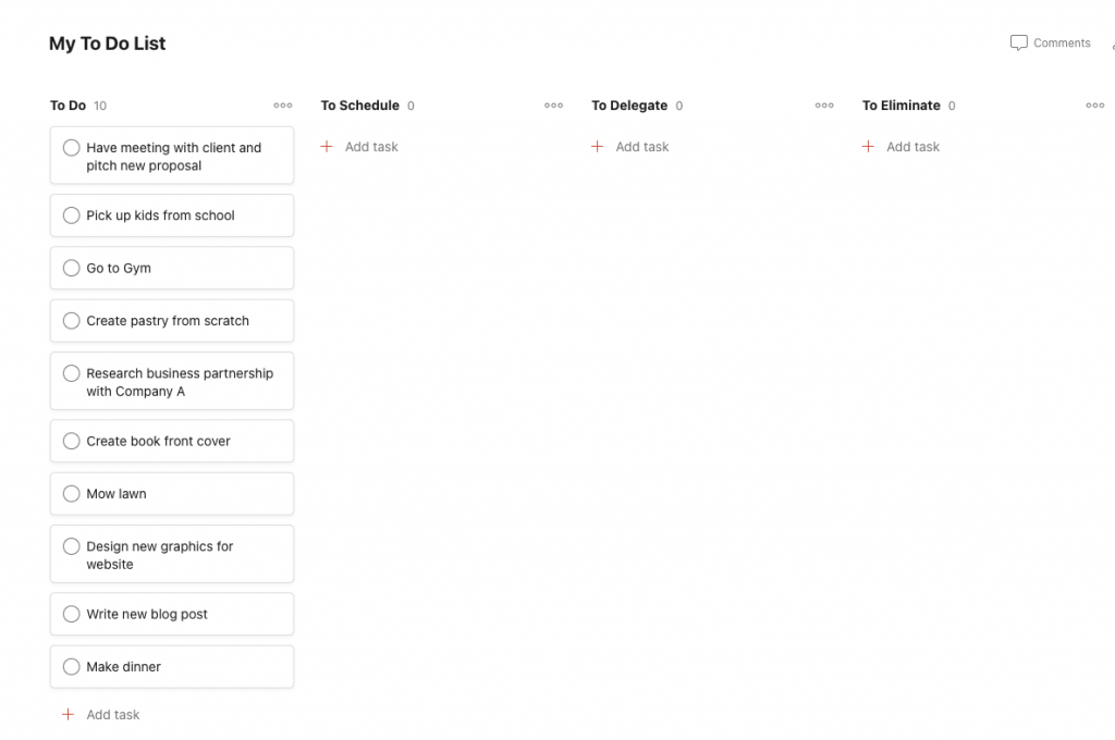 Todoist All Tasks In To Do List